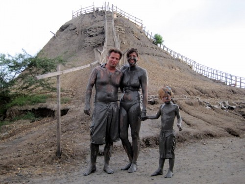 Mud Volcano in Northern Colombia!